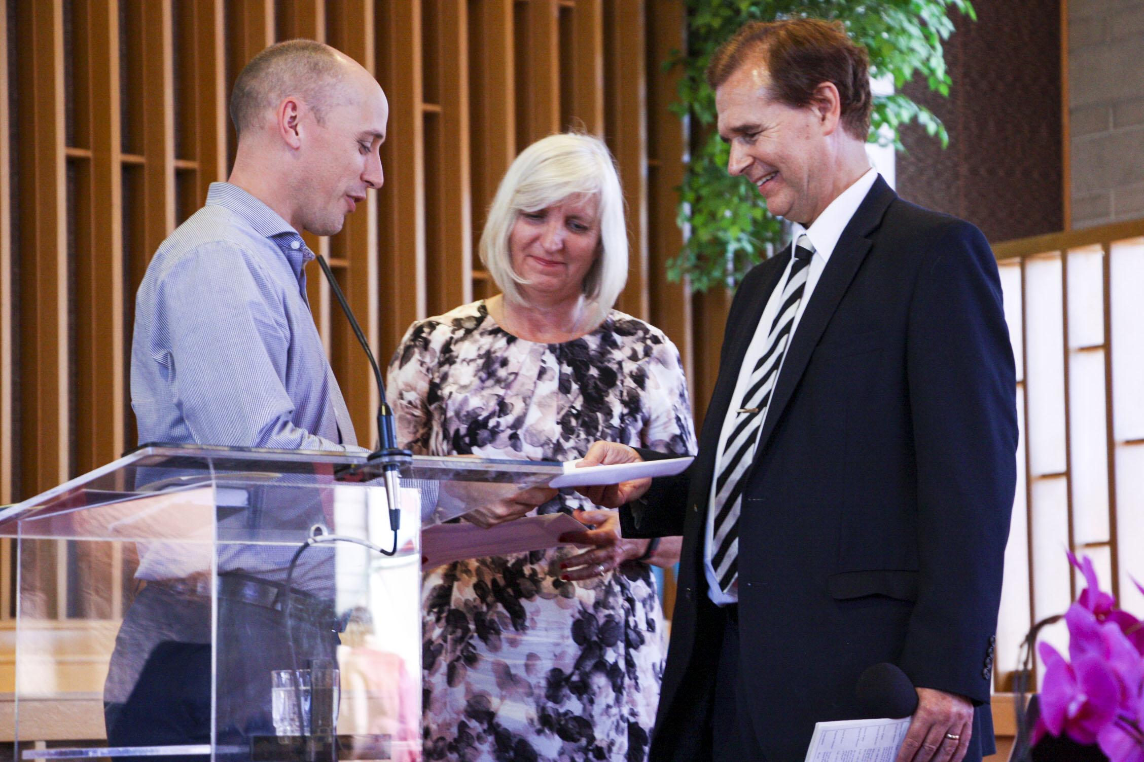 Induction – Pastor John Oakes
