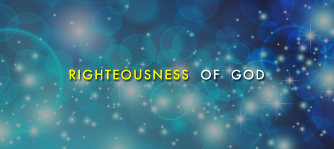 The Righteousness of God (June 10th, 2018)