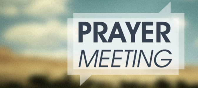 Wednesday Women's Prayer Meeting