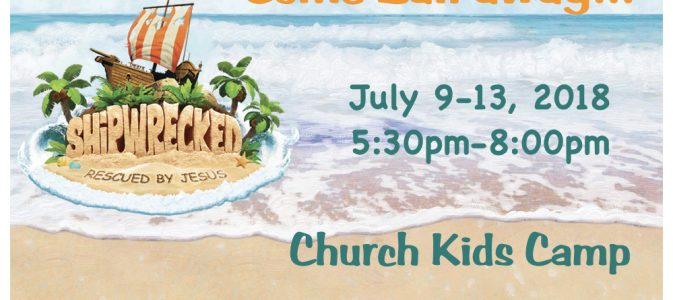 VBS for Children – Summer 2018