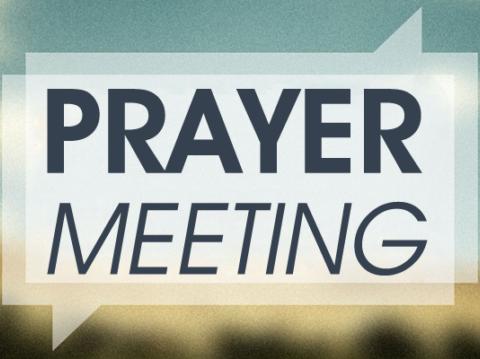 Wednesday Women's Prayer Meeting